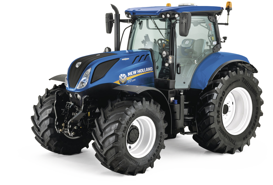 New Holland T7.175-T7.225 AC-SWB-Serie Stufenlos